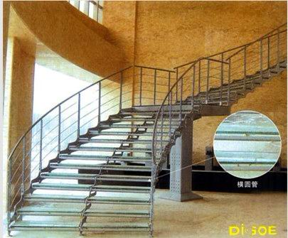 Ze xin stainless steel staircase handrail